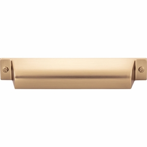 Top Knobs - Barrington Collection - Channing Cup Pull 5 Inch (c-c) - Honey Bronze - TK774HB