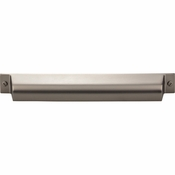 Top Knobs - Barrington Collection - Channing Cup Pull 7 Inch (c-c) - Ash Gray - TK775AG