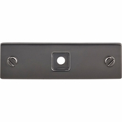 Top Knobs - Barrington Collection - Channing Knob 1 1/16 Inch - Ash Gray - TK740AG