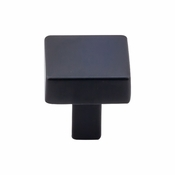 "Top Knobs - Barrington Collection - Channing Knob 1 1/16"" - Flat Black - TK740BLK"