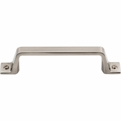 "Top Knobs - Barrington Collection - Channing Pull 3 3/4"" (c-c) - Brushed Satin Nickel - TK743BSN"