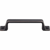 "Top Knobs - Barrington Collection - Channing Pull 3 3/4"" (c-c) - Umbrio - TK743UM"