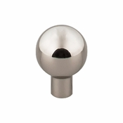 "Top Knobs - Barrington Collection - Brookline Knob 7/8"" - Polished Nickel - TK760PN"