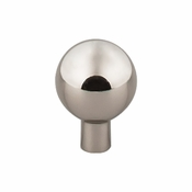 "Top Knobs - Barrington Collection - Brookline Knob 1"" - Polished Nickel - TK761PN"