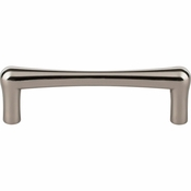 "Top Knobs - Barrington Collection - Brookline Pull 3 3/4"" (c-c) - Polished Nickel - TK763PN"