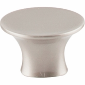 "Top Knobs - Barrington Collection - Edgewater Knob 1 5/16"" - Brushed Satin Nickel - TK780BSN"