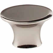 "Top Knobs - Barrington Collection - Edgewater Knob 1 5/16"" - Polished Nickel - TK780PN"