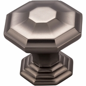 Top Knobs - Chareau Collection - Chalet Knob 1 1/2 Inch - Ash Gray - TK348AG