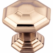 Top Knobs - Chareau Collection - Chalet Knob 1 1/2 Inch - Honey Bronze - TK348HB