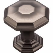 Top Knobs - Chareau Collection - Chalet Knob 1 1/8 Inch - Ash Gray - TK340AG