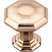 Top Knobs - Chareau Collection - Chalet Knob 1 1/8 Inch - Honey Bronze - TK340HB