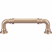 Top Knobs - Chareau Collection - Reeded Pull 3 3/4 Inch (c-c) - Honey Bronze - TK322HB