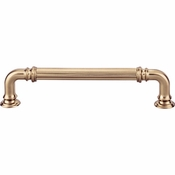 Top Knobs - Chareau Collection - Reeded Pull 5 Inch (c-c) - Honey Bronze - TK323HB