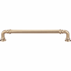 Top Knobs - Chareau Collection - Reeded Pull 7 Inch (c-c) - Honey Bronze - TK324HB