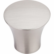 "Top Knobs - Chareau Collection - Shrewsbury Knob 1 5/16"" - Brushed Satin Nickel - TK385BSN"