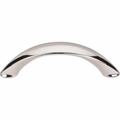 "Top Knobs - Dakota Collection - Arc Pull 3"" (c-c) - Polished Nickel - M1923"
