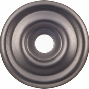 Top Knobs - Devon Collection - Brixton Backplate 1 3/8 Inch - Ash Gray - TK890AG