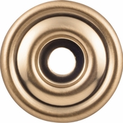Top Knobs - Devon Collection - Brixton Backplate 1 3/8 Inch - Honey Bronze - TK890HB
