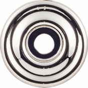 Top Knobs - Devon Collection - Brixton Backplate 1 3/8 Inch - Polished Nickel - TK890PN