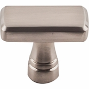 "Top Knobs - Devon Collection - Kingsbridge Knob 1 3/8"" - Brushed Satin Nickel - TK850BSN"