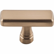 "Top Knobs - Devon Collection - Kingsbridge Knob 1 7/8"" - Honey Bronze - TK851HB"
