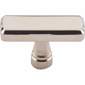 "Top Knobs - Devon Collection - Kingsbridge Knob 1 7/8"" - Polished Nickel - TK851PN"