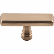 "Top Knobs - Devon Collection - Kingsbridge Knob 2 3/8"" - Honey Bronze - TK852HB"