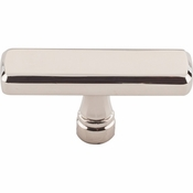 "Top Knobs - Devon Collection - Kingsbridge Knob 2 3/8"" - Polished Nickel - TK852PN"