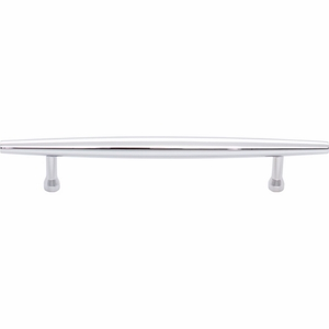 Top Knobs - Lynwood Collection - Allendale Pull 5 1/16 Inch - Polished Chrome - TK964PC