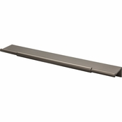 Top Knobs - Lynwood Collection - Crestview Tab Pull 10 Inch - Ash Gray - TK974AG