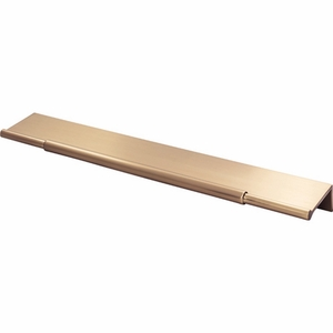 Top Knobs - Lynwood Collection - Crestview Tab Pull 10 Inch - Honey Bronze - TK974HB