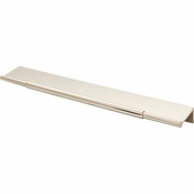 Top Knobs - Lynwood Collection - Crestview Tab Pull 10 Inch - Polished Nickel - TK974PN