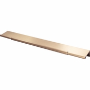 Top Knobs - Lynwood Collection - Crestview Tab Pull 12 Inch - Honey Bronze - TK975HB