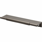 Top Knobs - Lynwood Collection - Crestview Tab Pull 6 Inch - Ash Gray - TK972AG