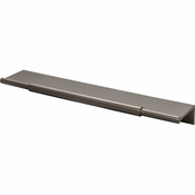 Top Knobs - Lynwood Collection - Crestview Tab Pull 8 Inch - Ash Gray - TK973AG