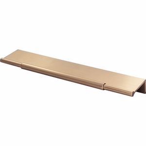 Top Knobs - Lynwood Collection - Crestview Tab Pull 8 Inch - Honey Bronze - TK973HB