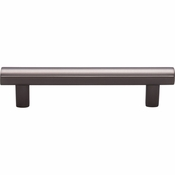 Top Knobs - Lynwood Collection - Hillmont Pull 3 3/4 Inch - Ash Gray - TK904AG