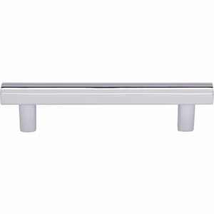 Top Knobs - Lynwood Collection - Hillmont Pull 3 3/4 Inch - Polished Chrome - TK904PC