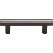 Top Knobs - Lynwood Collection - Hillmont Pull 3 Inch - Ash Gray - TK903AG