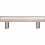 Top Knobs - Lynwood Collection - Hillmont Pull 3 Inch - Brushed Satin Nickel - TK903BSN