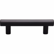 Top Knobs - Lynwood Collection - Hillmont Pull 3 Inch - Flat Black - TK903BLK