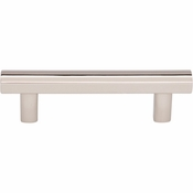 Top Knobs - Lynwood Collection - Hillmont Pull 3 Inch - Polished Nickel - TK903PN