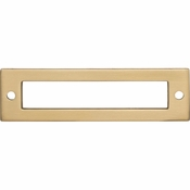 Top Knobs - Lynwood Collection - Hollin Backplate 3 3/4 Inch - Honey Bronze - TK924HB