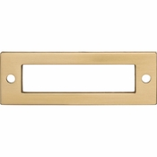 Top Knobs - Lynwood Collection - Hollin Backplate 3 Inch - Honey Bronze - TK923HB