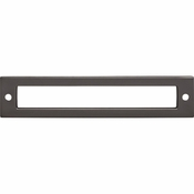 Top Knobs - Lynwood Collection - Hollin Backplate 5 1/16 Inch - Ash Gray - TK925AG