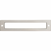 Top Knobs - Lynwood Collection - Hollin Backplate 5 1/16 Inch - Brushed Satin Nickel - TK925BSN