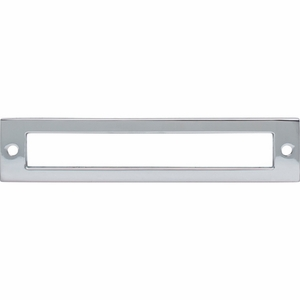 Top Knobs - Lynwood Collection - Hollin Backplate 5 1/16 Inch - Polished Chrome - TK925PC