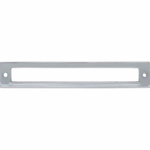 Top Knobs - Lynwood Collection - Hollin Backplate 6 5/16 Inch - Polished Chrome - TK926PC