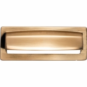 Top Knobs - Lynwood Collection - Hollin Cup Pull 3 3/4 Inch - Honey Bronze - TK937HB
