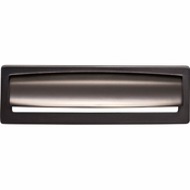 Top Knobs - Lynwood Collection - Hollin Cup Pull 5 1/16 Inch - Ash Gray - TK938AG